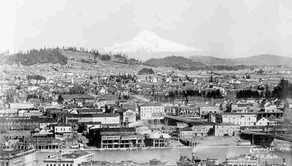 East Portland Waterfront 1898